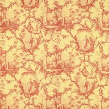 Jasmine Toile Decorator Fabric by Brunschwig & Fils
