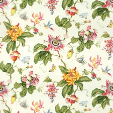 White Print Decorator Fabric by Brunschwig & Fils