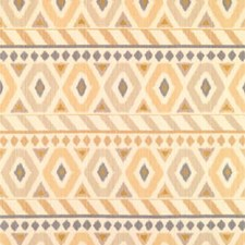 Sand/Ecru/Ivory Geometric Decorator Fabric by Brunschwig & Fils