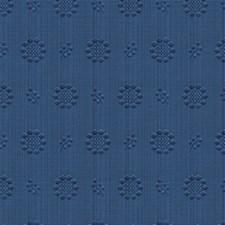 Royal Blue Ottoman Decorator Fabric by Brunschwig & Fils