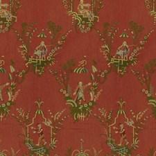 Cinnabar Asian Decorator Fabric by Brunschwig & Fils
