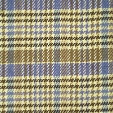 Canton Blue/Cafe Plaid Decorator Fabric by Brunschwig & Fils