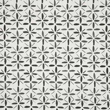 Grey Print Decorator Fabric by Pindler