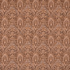 Chocolate Decorator Fabric by Silver State