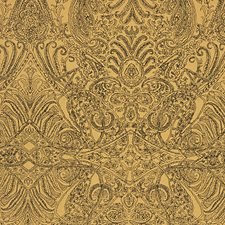 Indian Gold Decorator Fabric by Scalamandre