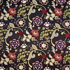 Night Blooming Decorator Fabric by Kasmir