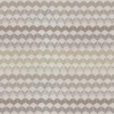 Cream/Beige/Taupe Chevron Decorator Fabric by JF