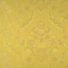 Yellow Decorator Fabric by Scalamandre
