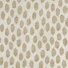 White Brown Decorator Fabric by Scalamandre