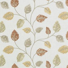Amber Embroidery Decorator Fabric by Duralee