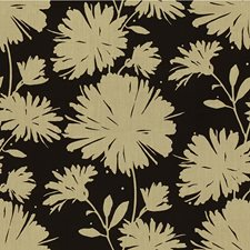 Black Botanical Decorator Fabric by Kravet