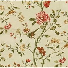 Pink Embroidery Decorator Fabric by Lee Jofa