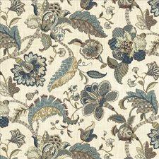 French Blue Decorator Fabric by Kasmir