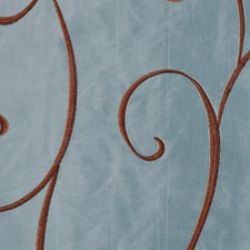 French Blue Decorator Fabric by RM Coco