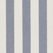Denim Stripe Decorator Fabric by Duralee