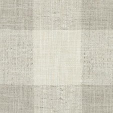 Grey Plaid Decorator Fabric by Duralee