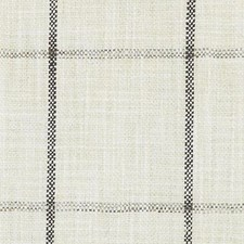 Black/Linen Plaid Decorator Fabric by Duralee