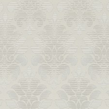 Silver Damask Decorator Fabric by Duralee