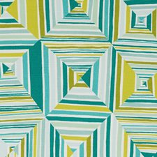 Blue/Green Abstract Decorator Fabric by Duralee