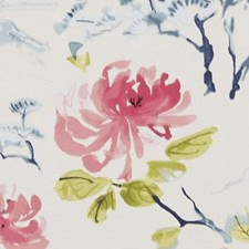 Geranium Asian Decorator Fabric by Duralee