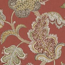 Pomegranate Jacobean Decorator Fabric by Duralee