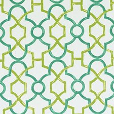 Teal Dots Decorator Fabric by Duralee