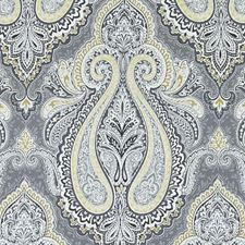 Smoke Paisley Decorator Fabric by Duralee
