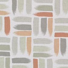 Melon Abstract Decorator Fabric by Duralee