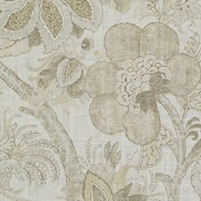 Linen Botanical Decorator Fabric by Duralee