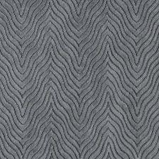 Slate Herringbone Decorator Fabric by Duralee