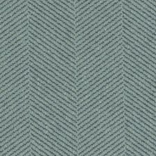 Sea Green Herringbone Decorator Fabric by Duralee