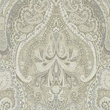 Latte Paisley Decorator Fabric by Duralee