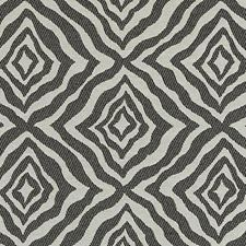 Black/White Abstract Decorator Fabric by Duralee