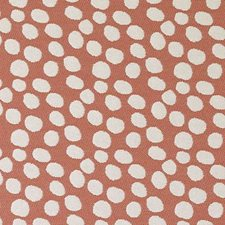 Terracotta Dots Decorator Fabric by Duralee