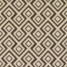Linen/Charcoal Diamond Decorator Fabric by Duralee
