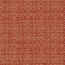 Gold/Red Chenille Decorator Fabric by Duralee