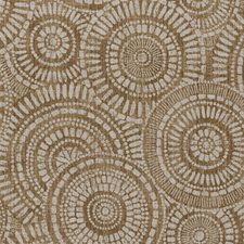 Tobacco Medallion Decorator Fabric by Duralee