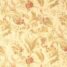 Rose Antique Botanical Decorator Fabric by Threads