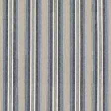 Indigo Stripes Decorator Fabric by Threads