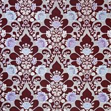 Ruby Damask Decorator Fabric by Pindler