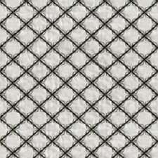 Grey/Black Diamond Decorator Fabric by JF