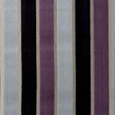Amethyst Stripe Decorator Fabric by Clarke & Clarke