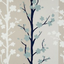 Mineral Floral Vine Decorator Fabric by Clarke & Clarke