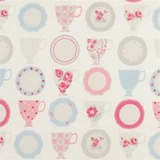 Rose Floral Medium Decorator Fabric by Clarke & Clarke
