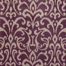 Damson Damask Decorator Fabric by Clarke & Clarke