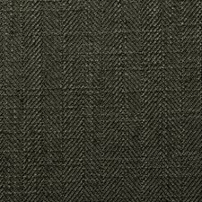 Licorice Herringbone Decorator Fabric by Clarke & Clarke