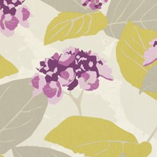 Berry Floral Large Decorator Fabric by Clarke & Clarke