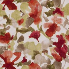 Spice Floral Medium Decorator Fabric by Clarke & Clarke