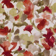 Spice Floral Medium Decorator Fabric by Clarke & Clarke