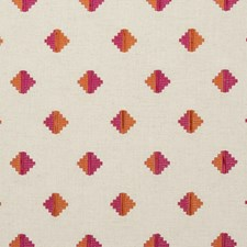 Fuchsia Weave Decorator Fabric by Clarke & Clarke